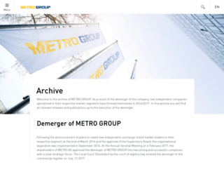 metro-group.com screenshot