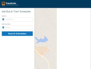 metro-north.transit-info.com screenshot
