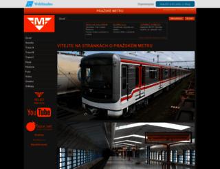 metro-praha.wbs.cz screenshot
