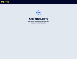 metro-tr.com screenshot