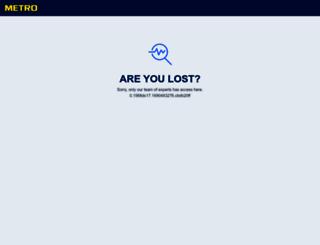 metro.sk screenshot