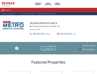 metroatlantainc.remax-georgia.com screenshot