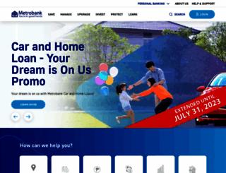 metrobank.com.ph screenshot