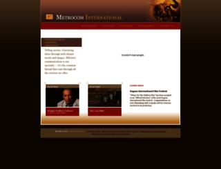 metrocominternational.com screenshot