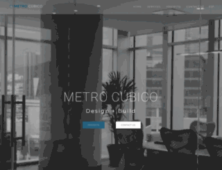 metrocubico.com.mx screenshot