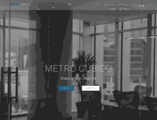 metrocubico.com.mx screenshot