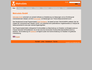 metrodata.de screenshot