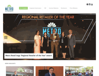 metrogaisano.com screenshot