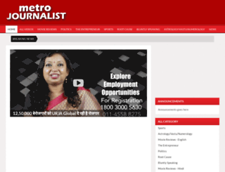 metrojournalist.com screenshot