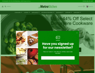 metrokitchen.com screenshot