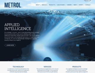 metrol.co.uk screenshot