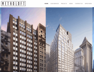 metroloftnyc.com screenshot