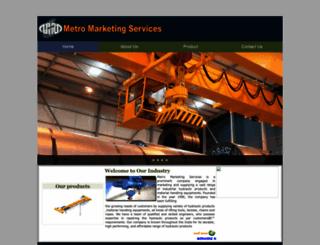 metromarketingservices.com screenshot