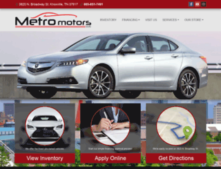 metromotorstn.com screenshot