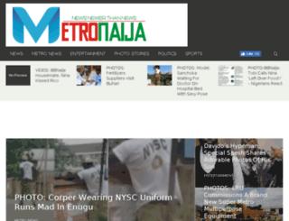 metronaija.com screenshot