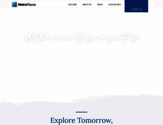 metroplaces.com screenshot