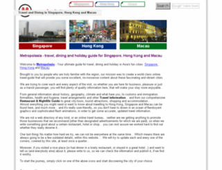 metropolasia.com screenshot