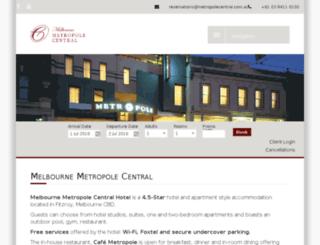 metropole.org screenshot
