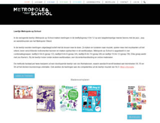 metropoleopschool.nl screenshot