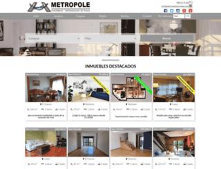 metropoleourense.com screenshot