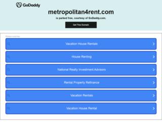 metropolitan4rent.com screenshot