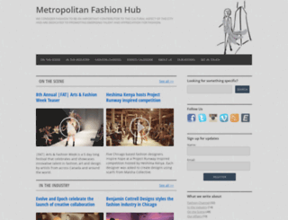 metropolitanfashionhub.com screenshot