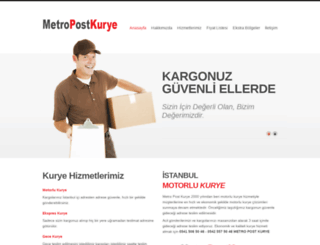 metropostkurye.com screenshot