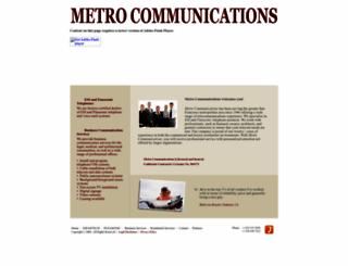 metrotelephone.com screenshot