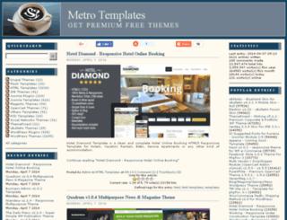 metrotemplates.com screenshot