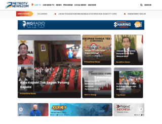metrotvnews.com screenshot