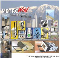 metrowild.com screenshot