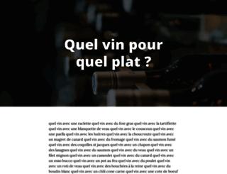 mets-vins.fr screenshot
