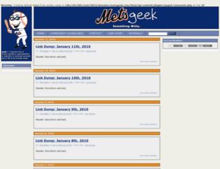 metsgeek.com screenshot