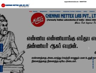 mettexlab.com screenshot