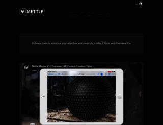mettle.com screenshot