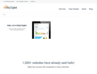 mettydigital.com screenshot