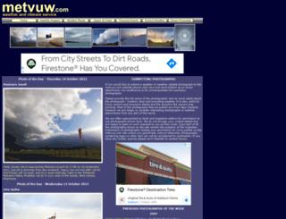 metvuw.co.nz screenshot