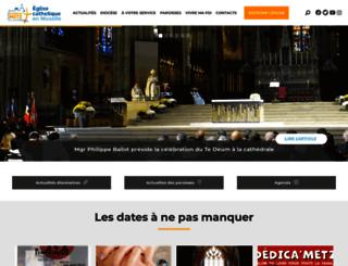 metz.catholique.fr screenshot