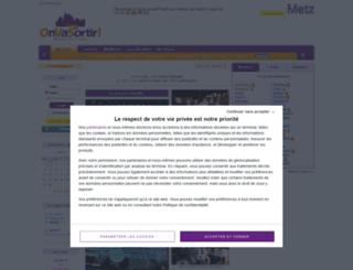metz.onvasortir.com screenshot