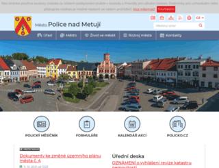 meu-police.cz screenshot