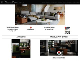 meublesparmentier.fr screenshot