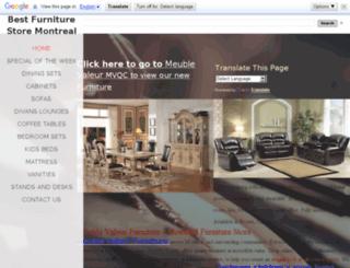 meubleville.com screenshot