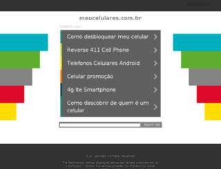 meucelulares.com.br screenshot