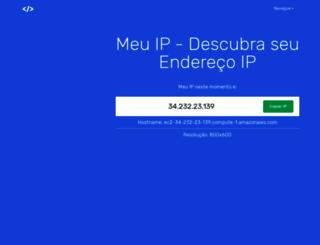 meuenderecoip.com screenshot