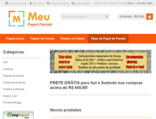 meupapelparede.com.br screenshot
