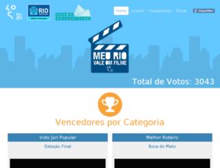 meuriovaleumfilme.com.br screenshot