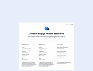 meuservidor.net screenshot