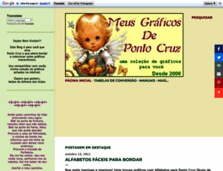 meusgraficosdepontocruz.blogspot.com screenshot