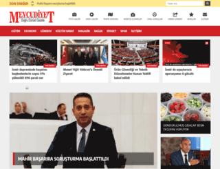 mevcudiyet.com screenshot