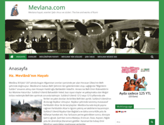 mevlana.com screenshot